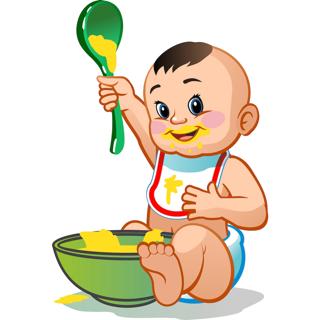 Leckere und frisch zubereitete Rezepte für Babys.